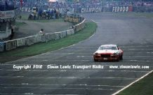 CHEVROLET CAMARO (Frank Gardner)photo.   Brands Hatch RAC Saloons October 1973